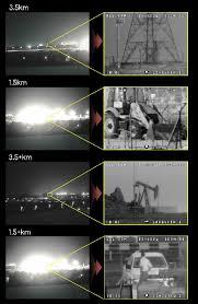 Long range IR PTZ camera systems