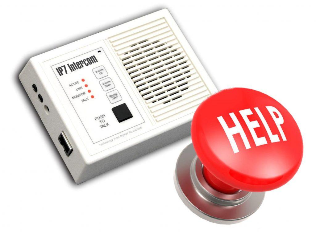 panic button intercom